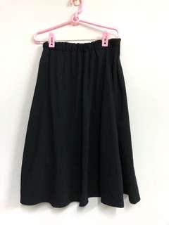 🚚 GU 黑長裙