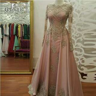 Satin Formal Party Gown
