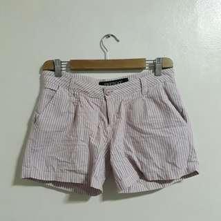 Freego Pink Stripe Shorts