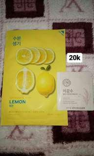 Promo!! Sheetmask holika holika lemon