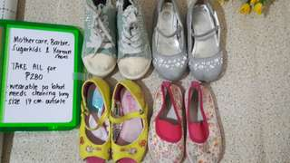Take all kids shoes