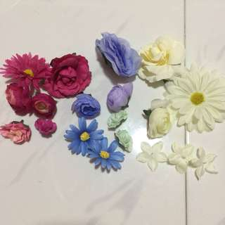 Fake Flowers from Daiso