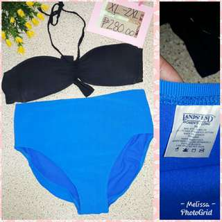 LANDS END 2 PC SWIMWEAR
