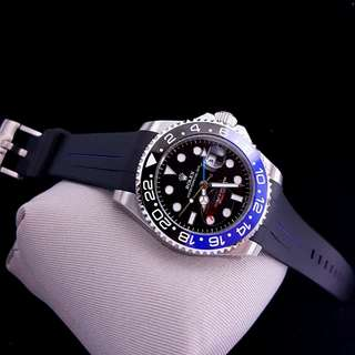Rolex Submariner GMT master D: 4.4 cm Automatic. Kaca saphire