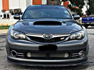 Subaru impreza version 10 wrx sti 2.0 sambung bayar or continue loan