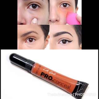 💄❤️ LA GIRL PRO CONCEAL HIGH DEFINITION HD CONCEALER GREEN CORRECTOR, YELLOW CORRECTOR & ORANGE CORRECTOR