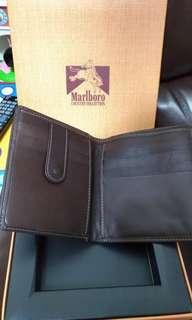 Marlboro真皮銀包