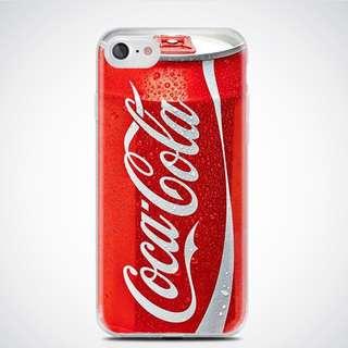 iPhone 7/8 Cellphone Case (Soft TPU) | Coca Cola