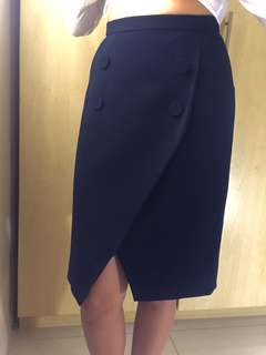 Navy Blue Finder's keepers skirt