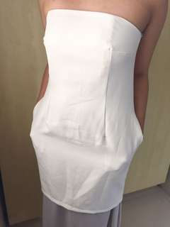 Pasduchas white dress