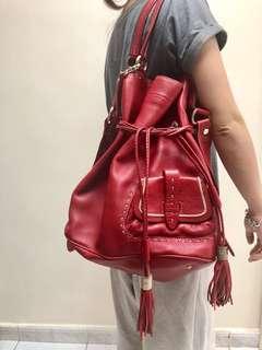 Lancel 手袋 *大約 w36cm x h40cm *99.9%新 *有塵袋