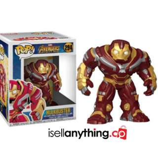 "Ready [FP] Funko Pop ""Hulkbuster"" Avenger Mini Toy"