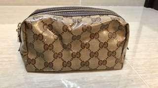 Gucci 化妝袋 *90%新