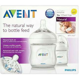 Avent Natural 4oz (twin)