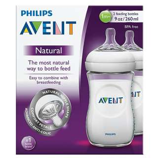 Avent Bottle 9oz (twin)