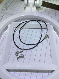 16寸 周大福橡筋 925 银项链
