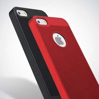 iPhone 5/5s Cellphone Case (Hard Case) | Red Cooling Case