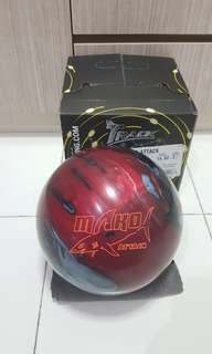 Undrilled 14lbs Track Mako Attack Bowling Ball