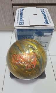 Undrilled 14lbs Brunswick Magnitude 035 Bowling Ball