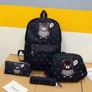 4in1 Korean Backpack