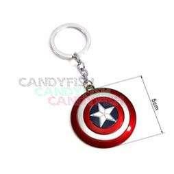 復仇者聯盟美國隊長盾牌銀色鑰匙圈掛飾吊飾