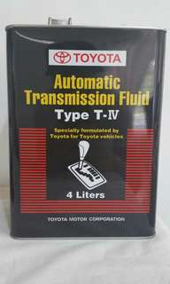 Toyota Atf (gear oil)