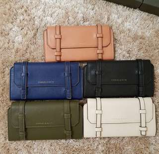 Charles n Keith Wallet Dompet CnK