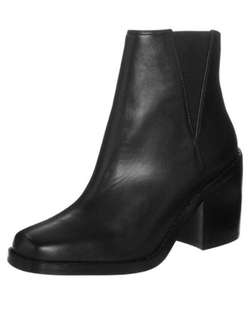 Shellys London Black Booties (Size 7)