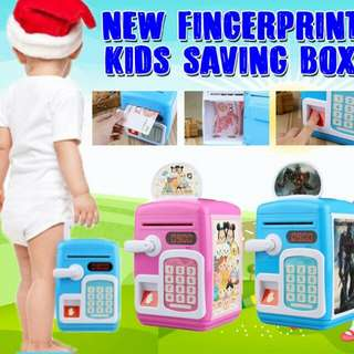 New FingerPrint Kids Saving Box
