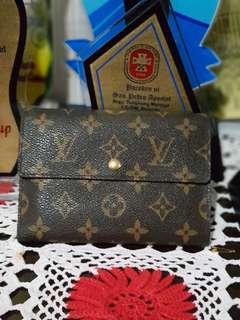 Authentic Louis Vuitton Trifold Wallet