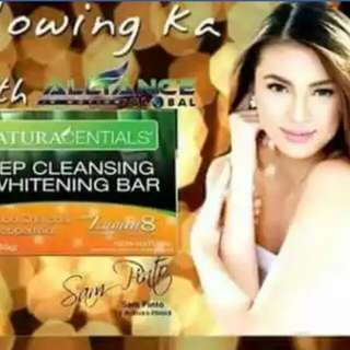 deep cleansing and whitening bar