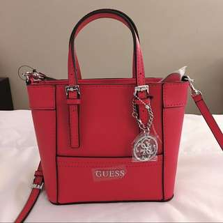 Guess Crossbody Bag - RED