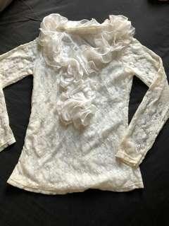 Blouse Lace White