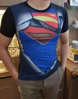 Baju Cowok Superman