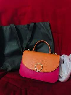 fancy bag authentic charles n keith
