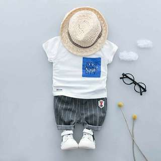 Set anak baju celana import