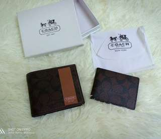 COACH  MENS WALLET 10 CARD HOLDER SLOT