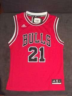 Authentic Chicago Bulls throw