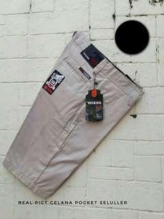 Celana Chinos pocket 29-34