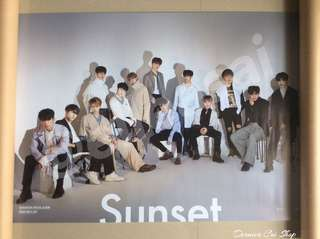 SEVENTEEN OFFICIAL POSTERS
