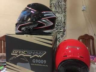 Helmet fullface gracshaw