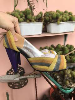 Rotelli suede heels