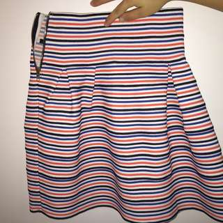 Puffy skirt size 8, vibrant colors, brand new!
