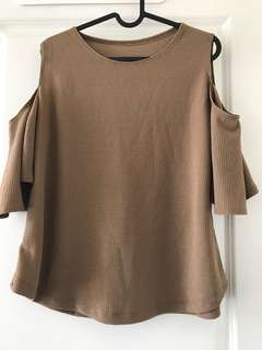 large cropped top
