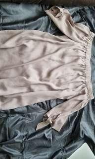 H&M off the shoulder blouse