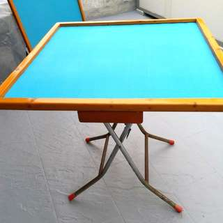 Magjong table with 4 drawers