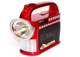 Portable Torch LED Light,USB,TFcard,MP3,FM Radio