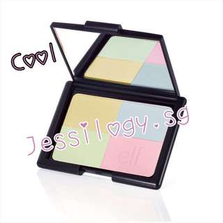 INSTOCK e.l.f. Studio Tone Correcting Powder in COOL / ELF Cosmetics / e.l.f. Cosmetics Tone Correcting Powder - COOL