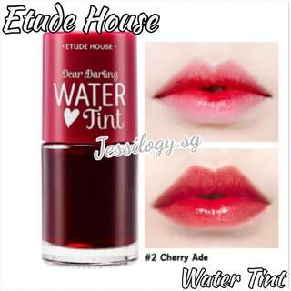 INSTOCK Etude House Dear Darling Water Tin / Etude House Tint Water / EtudeHouse Water Tint in Cherryade
