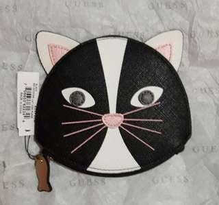 Guess Cat Coin Purse